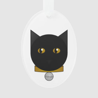 Your Bombay Cat Face Ornament