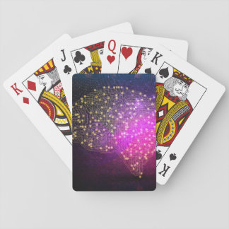 Your Brain on Bitcoin Playing Cards