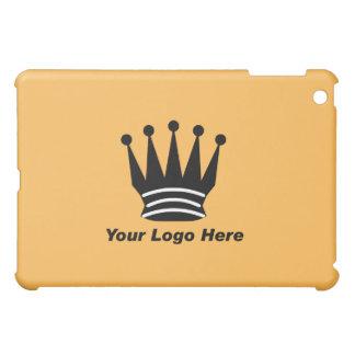 Your business brand logo custom orange  iPad mini cover