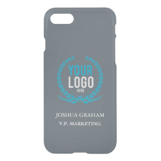 Your Business Logo | Job Title Custom iPhone 7 Case