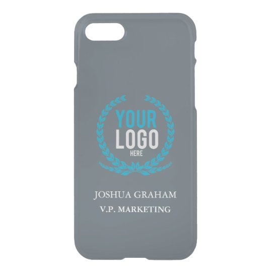 Your Business Logo | Job Title Custom iPhone
