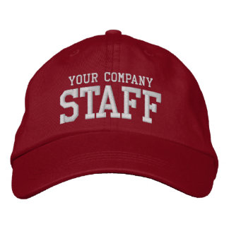 Your business staff promotional marketing employee embroidered hat