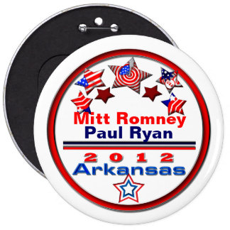 Your Candidate Arkansas Pinback Buttons