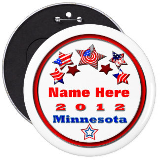 Your Candidate Minnesota Button