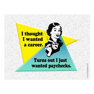 Your Career... Postcard
