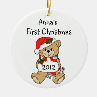 Your Child s Name First Christmas Ornament 2012