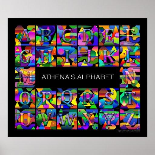 Your Child's Alphabet Poster