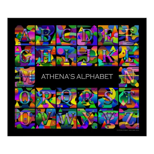 Your Child's Alphabet Poster