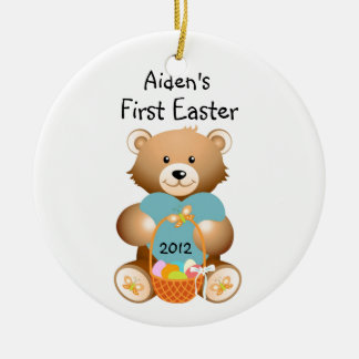 Your Child's Name First Easter Ornament