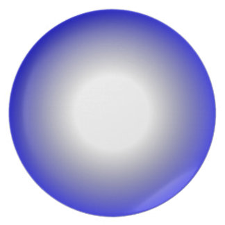 {your choice} to Blue 2 tone spherical gradient Plate