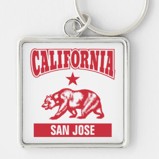 Your City Name California Personalized Key Ring