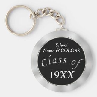 Your COLORS and TEXT Cheap Class Reunion Gifts Key Ring