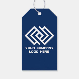 Your Company Logo Gift Tags - Choose Colour