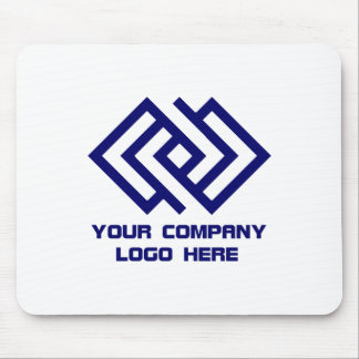Your Company Logo Mousepad White or Choose Colour