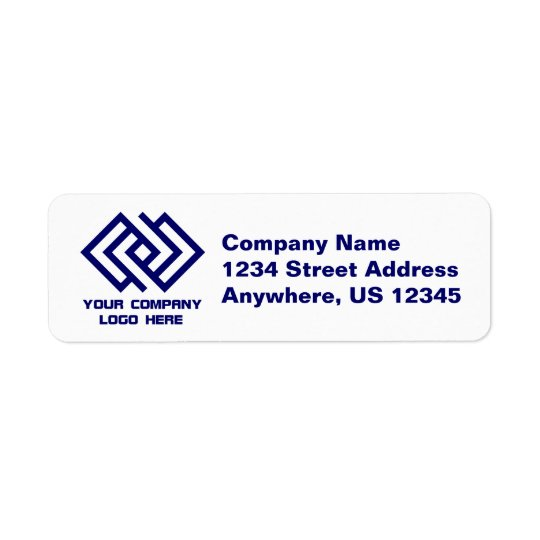 Your Company Logo Return Address Labels