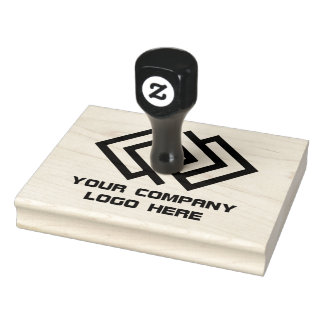 Your Company Logo Rubber Ink Stamp L