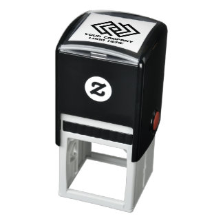 Your Company Logo Self-Inking Stamp - Choose