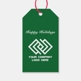 Your Company Party Logo Holiday Gift Tags G
