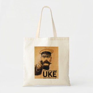 Your country needs UKE! Budget Tote Bag