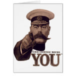 Your Country Needs YOU 1 Greeting Cards