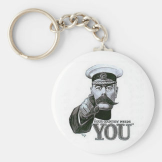 Your Country Needs You Basic Round Button Key Ring