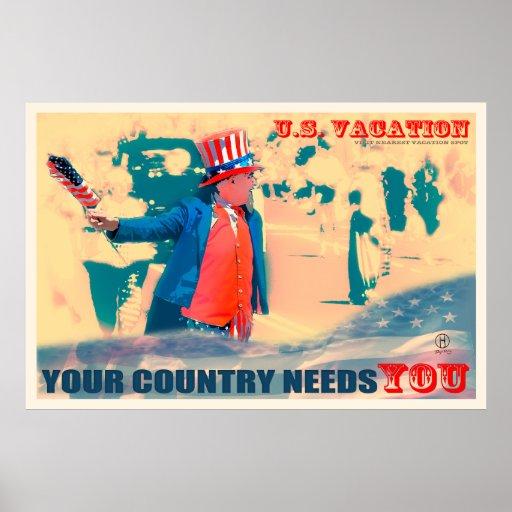 Your Country Needs You : Dapixara Travel Posters