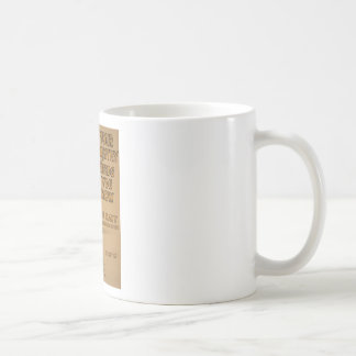 Your Country Needs You Now Basic White Mug