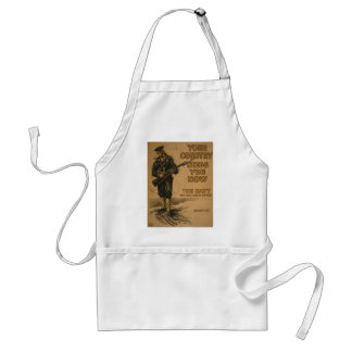 Your Country Needs You Now Standard Apron