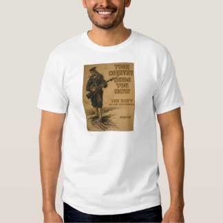 Your Country Needs You Now T-shirts