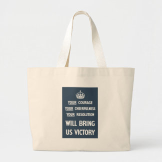 Your Courage Your Cheerfulness Your Resolution Tote Bag