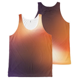 Your Custom All-Over Printed Unisex Tank, XL obwbp All-Over Print Tank Top
