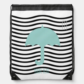 Your Custom Beach Holiday Drawstring Backpack