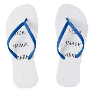 Your Custom Ladies Image Flip Flops