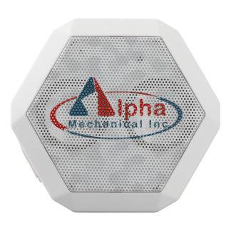 Your Custom Logo on White Speaker Box