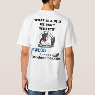 Your Custom Men's Tall Hanes T-Shirt DJ Scratch 2