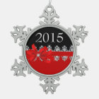 Your Custom Pewter Snowflake Ornament