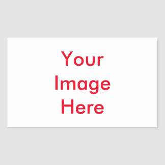 Your custom Picture Rectangular Sticker