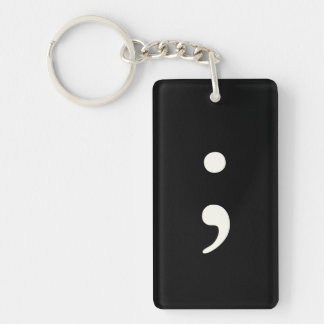 Your Custom Rectangle (single-sided) Keychain