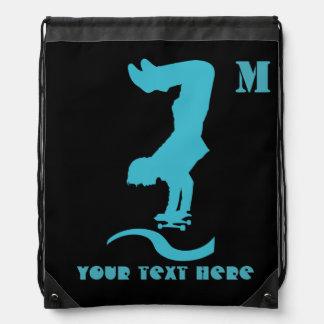 Your Custom Skater Drawstring Backpack