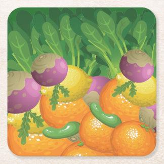 Your Custom Square Coasters Plenty Healty Diet