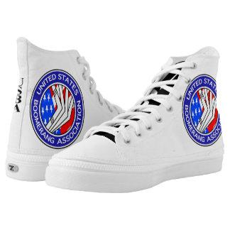 Your Custom Zipz High Top Shoes, US Men 13 / US Wo Printed Shoes