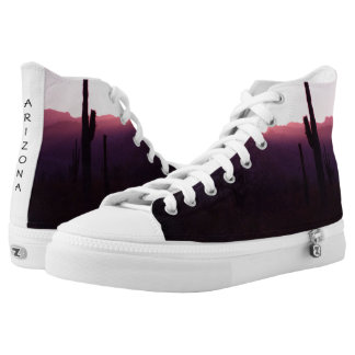 Your Custom Zipz High Top Shoes, US Men 8 / US Wom Printed Shoes