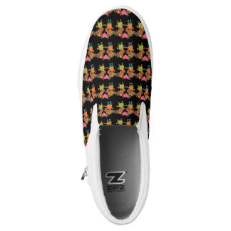 Your Custom Zipz Slip On Shoes, US Men 9.5 / US Wo Printed Shoes