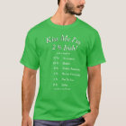 Your Customised DNA Tested Kiss Me I'm Irish! T-Shirt