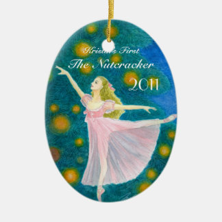 Your Dancer s First Nutcracker Oval Ornament
