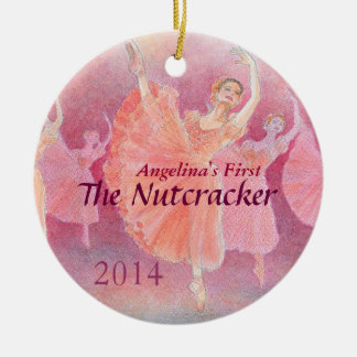 Your Dancer's First Nutcracker Ballet Ornament
