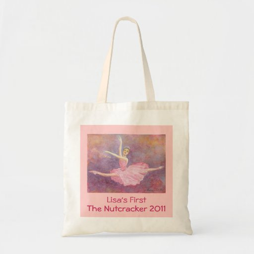 Your Dancer's First Nutcracker Performance Tote Canvas Bags