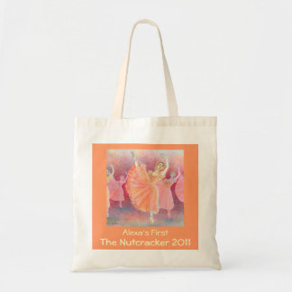Your Dancer's First Nutcracker Tote Budget Tote Bag