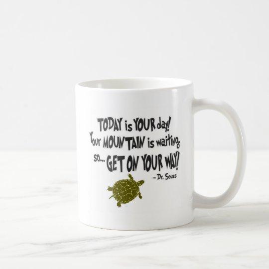 Your Day. Your Mountain. Coffee Mug