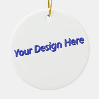 Your Design Here Christmas Ornament
